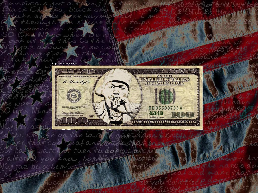 50 cent Wallpaper America's Got A Thang Fo This Gangsta